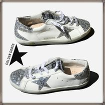 即発★Golden Goose★KIDS 大人兼用 SUPERSTAR GLITTER STAR