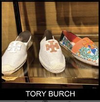 Outlet買付【Tory Burch】ロゴ入りWeston エスパドリーユ