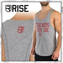 ◆RISE 20SS 最新◆ロゴ入り LEGENDS NEVER DIE STRINGER◆GREY