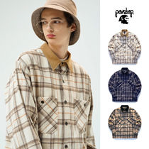 PERSTEP正規品★20SS★全3色★Hugo check shirt★UNISEX