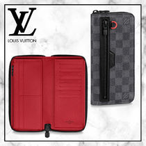 ◆Louis Vuitton 20SS最新◆VERTICALジッピーウォレット◆ダミエ