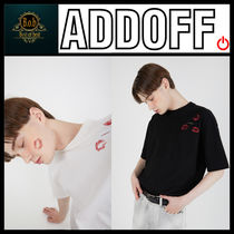 [ADDOFF] Lips Pocket T-Shirt - Off White☆超人気☆日本未入荷