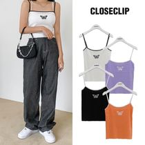 [CLOSECLIP] CHAD BUTTERFLY KNITSLEEVELES 4COLOR 韓国ブランド
