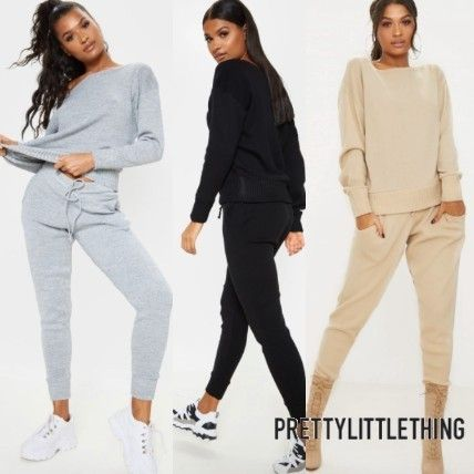PrettyLittleThing セットアップ 【関税・送料込】Pretty Little Thing★ニット素材セットアップ