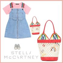 Stella McCartney☆Hearts Embroideryバケットバッグ☆大人もOK