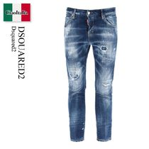 Dsquared2 Dark 2 Wash Cool Girl Jeans