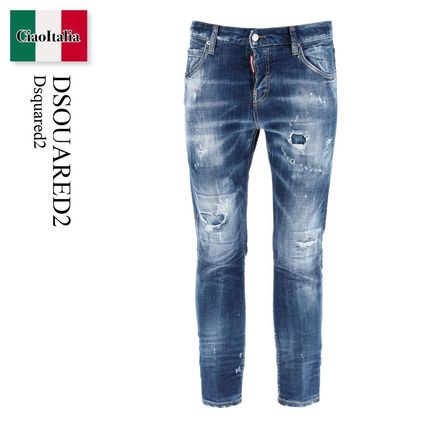 D SQUARED2 デニム・ジーパン Dsquared2 Dark 2 Wash Cool Girl Jeans