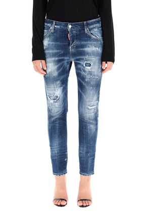 D SQUARED2 デニム・ジーパン Dsquared2 Dark 2 Wash Cool Girl Jeans(3)