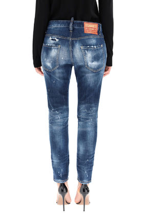 D SQUARED2 デニム・ジーパン Dsquared2 Dark 2 Wash Cool Girl Jeans(4)