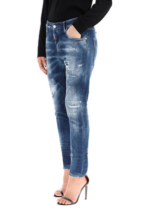 D SQUARED2 デニム・ジーパン Dsquared2 Dark 2 Wash Cool Girl Jeans(5)