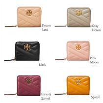 TORYBURCH KIRA CHEVRON BI-FOLD WALLET 56820 即発送可