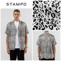 【STAMPD】☆新作☆ヒョウ柄☆LEOPARD CAMP COLLAR BUTTON DOWN