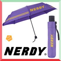 ★NERDY★Folding Umbrella Purple 折りたたみ傘
