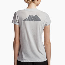 【JAMES PERSE】★ASPEN MOUNTAINS GRAPHIC Vネック Tシャツ