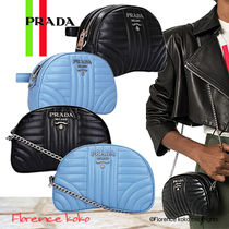 関税込み国内発送 PRADA Diagramme Belt Bag/Chain shoulder Bag