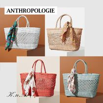 【ANTHROPOLOGIE】Shira Woven Tote Bag* 飽きない可愛さ