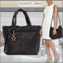 SEE BY CHLOE★Joy Rider Medium 2way トート&ショルダーバッグ