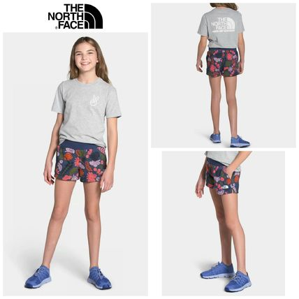 THE NORTH FACE(ザノースフェイス) キッズ用ボトムス 【The North Face】☆新作☆ GIRLS' LOGOWEAR SHORT
