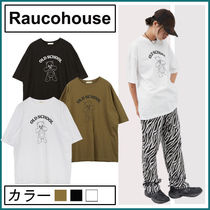 【Raucohouse】Kitchee Bear Printed T-shirt★男女兼用
