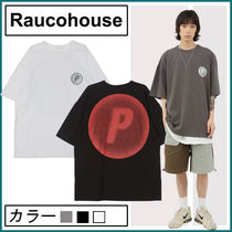 【Raucohouse】P wave printing T-shirt★男女兼用