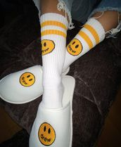 【在庫あり】DREW HOUSE 20SS  MASCOT SOCKS WHITE