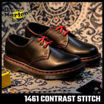 【Dr.Martens】1461 RS BLACK SMOOTH レッド ステッチ