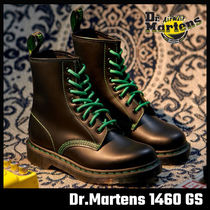 【Dr.Martens】1460 GS BLACK SMOOTH グリーン ステッチ
