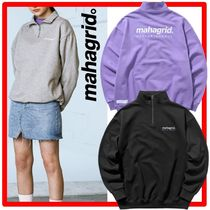 ☆☆韓国の人気☆mahagrid☆HALF ZIP SWEAT SHIRTS☆3色☆☆