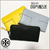 Tory Burch ☆BLOCK-T CONTINENTAL WALLET☆送料込