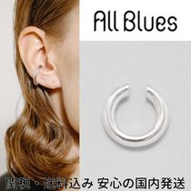 ALL BLUES☆Almost thin Polished silver イヤーカフ