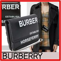 ☆韓国の人気☆BURBERRY☆HORSEFERRY チェーン card case☆