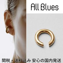 ALL BLUES☆Almost thin Polished gold イヤーカフ
