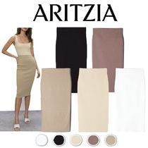 ☆Officeエレガント【Aritzia】Babaton Sculpt Knit Tube Skirt
