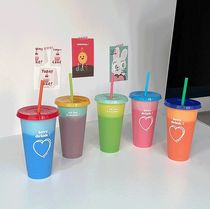 MAZZZZY(マジー) タンブラー 【MAZZZZY】水を入れると色が変わる☆reusable cup 5色セット