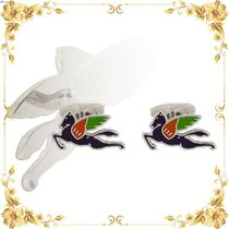 VIPセール◆multicoloured logo cufflinks