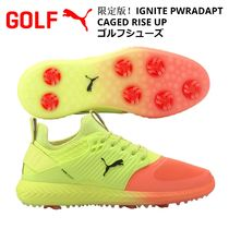 【PUMA】限定版!IGNITE PWRADAPT CAGED RISE UP ゴルフシューズ