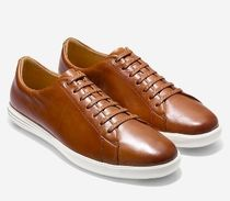 COLE HAAN メンズ : Men's Grand Crosscourt Sneaker-TAN