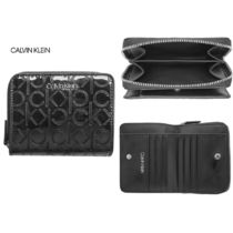 関税送料無料★Calvin Klein★MUST ZIP FLAP パース