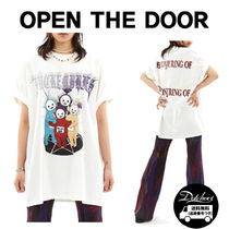 OPEN THE DOOR punk teletubbies 1/2 T (2 color) YI579 追跡付
