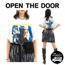 OPEN THE DOOR rock 1/2 T (2 color) YI583 追跡付