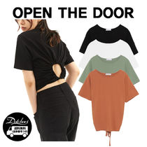 OPEN THE DOOR back hole 1/2 T (4 color) YI584 追跡付