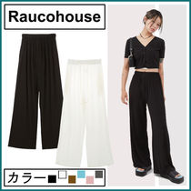 【Raucohouse】Easy Cool Banding Pants★