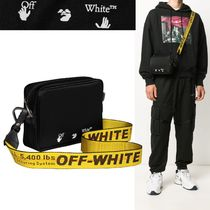OFF WHITE メンズ INDUSTRIAL ナイロン クロスボディバッグ