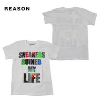 [即発] リーズン REASON Tシャツ SNEAKERS RUINED MY LIFE TEE