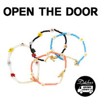 OPEN THE DOOR(オープンザドア) ブレスレット OPEN THE DOOR flower bed bracelet (4 color) YI604 追跡付