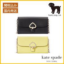 【Kate Spade】robyn small flap chain wallet◆国内発送◆