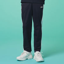 [ FILA ] Heritage White Bicolor track Pants (Ink navy)
