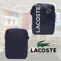 Lacoste☆L.12.12 Signature Leatherクロスボディバッグ☆送料込