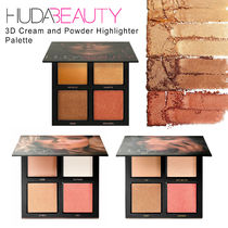 【HUDA BEAUTY】3D Cream and Powder Highlighter Palette☆★