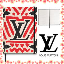 【LouisVuitton】★ロゴ入り!!LV CRAFTY CLEMENCE NOTEBOOK★